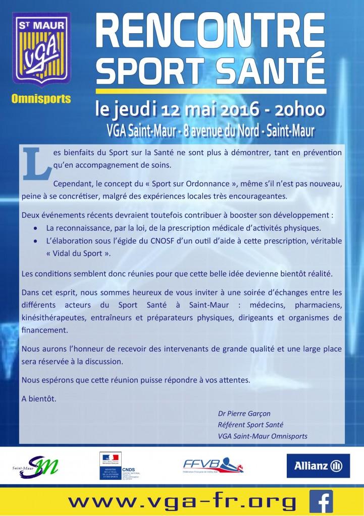Rencontre Sport Santé