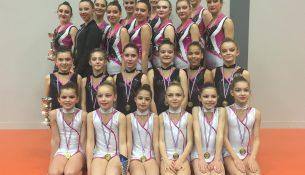 UGAP Bourg de Péage met à l honneur sa section gymnastique (26). a9a1bd955f1